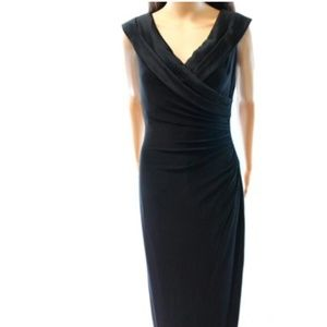 Lauren Ralph Lauren Black Evening Dress Size 12